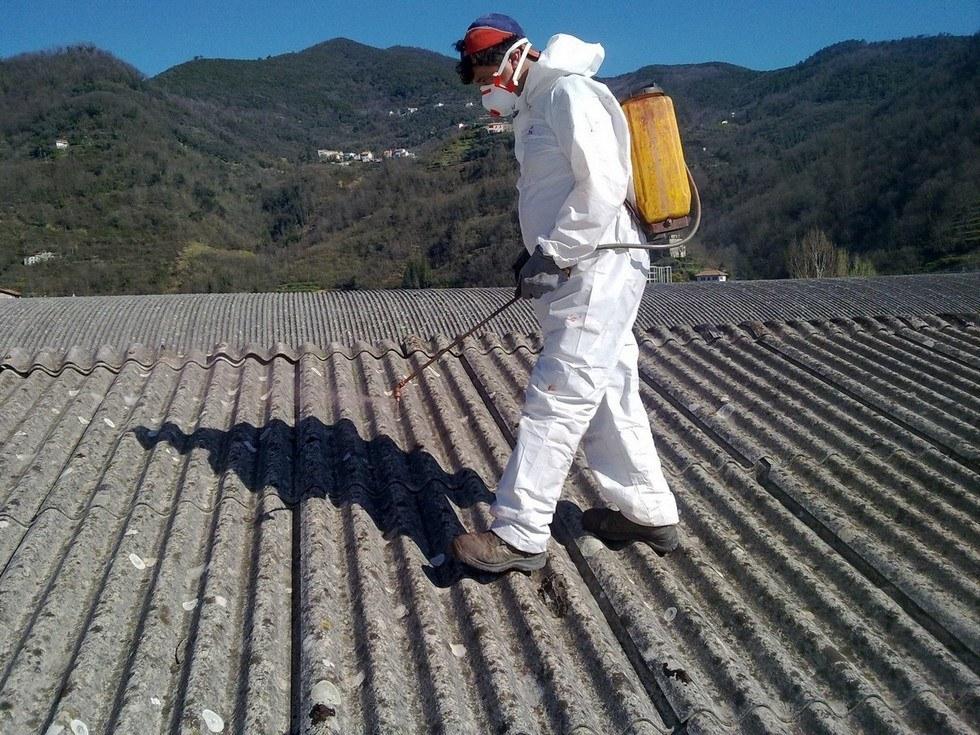 Rimozione Eternit - Lavori in cantiere Piemonte
