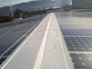 Tetti con coperture fotovoltaiche