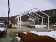 Installazione di capannoni agricoli