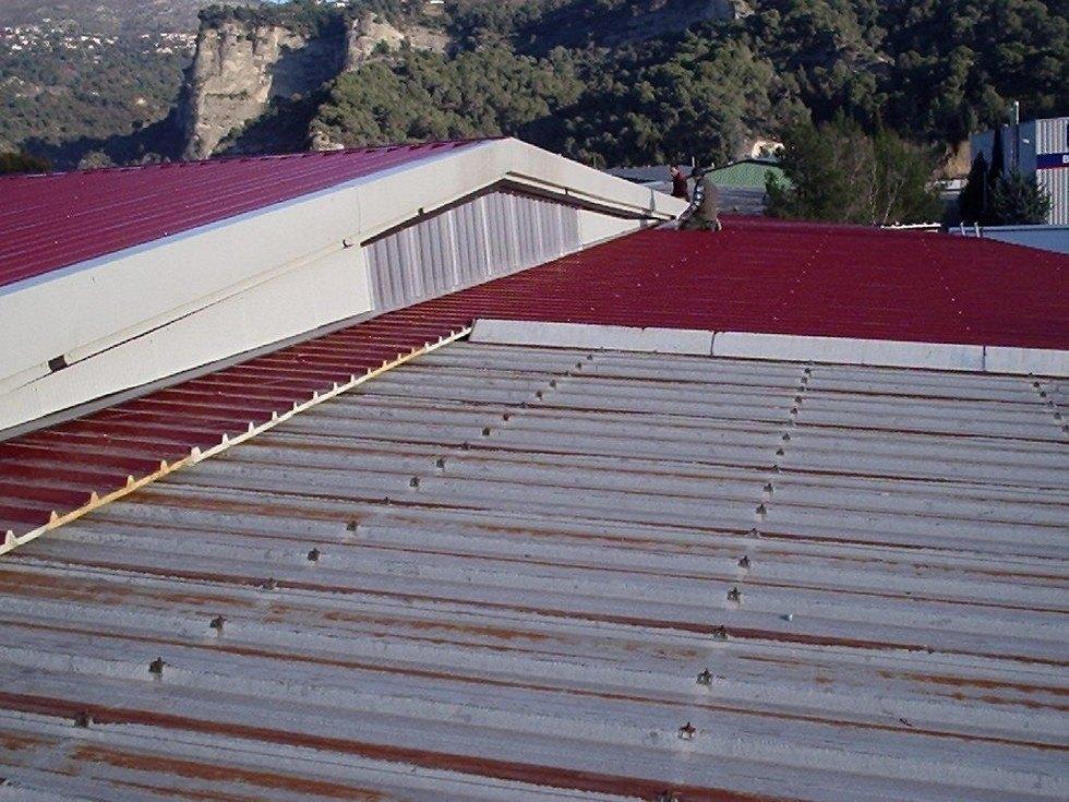 Pannelli coibentati sul tetto